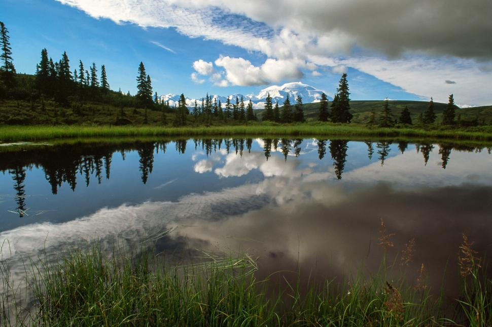 Download Free Stock HD Photo of Nuggetpond at Denali National Park and Preserve in Alaska Online