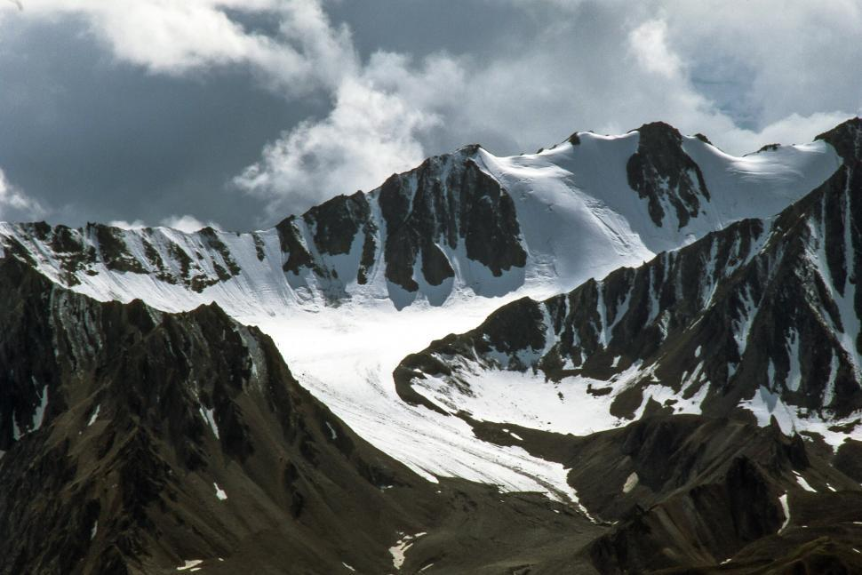 Download Free Stock HD Photo of Snow-Capped Mountains Online