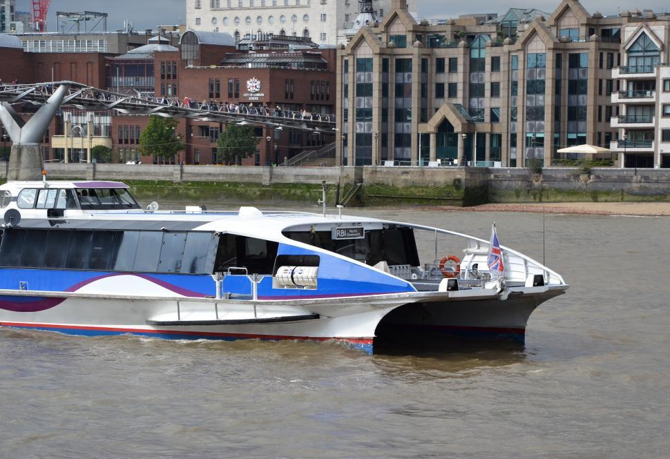 Download Free Stock HD Photo of River bus  Online