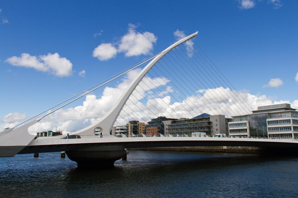 Download Free Stock HD Photo of Samuel Beckett Bridge Online