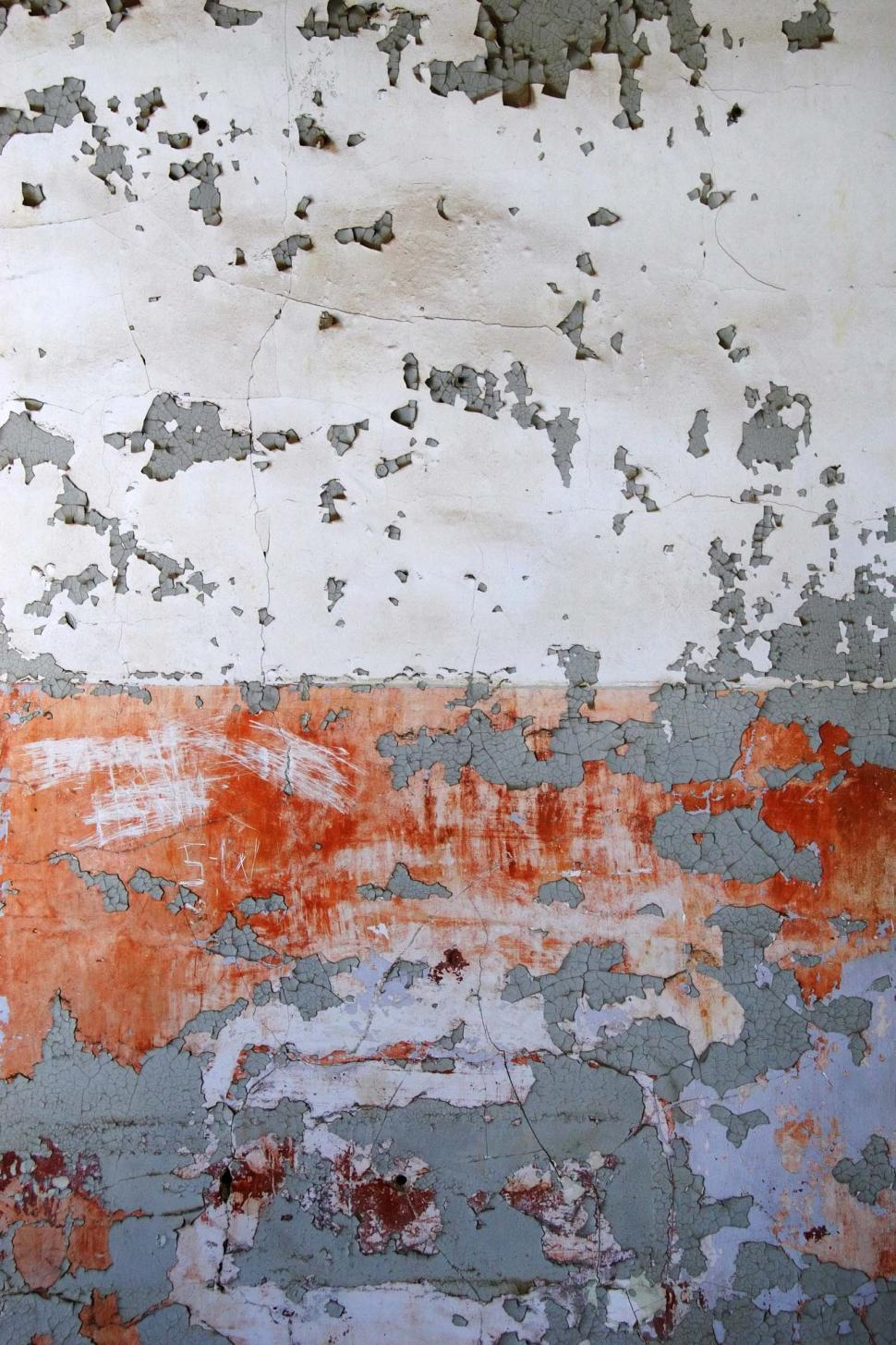 Download Free Stock HD Photo of Old wall of peeling paint Online