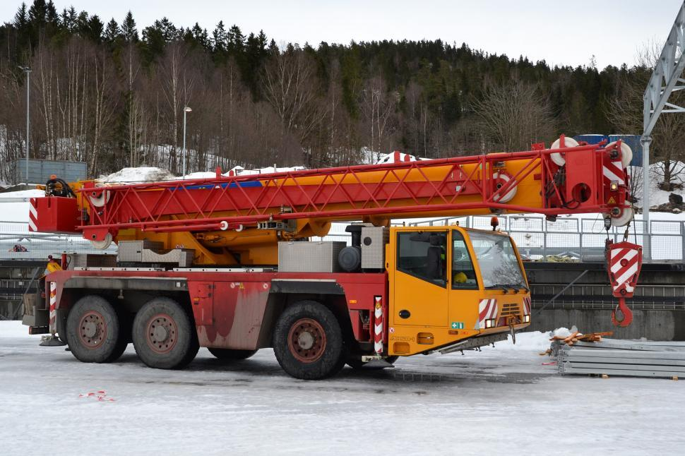 Download Free Stock HD Photo of All terrain crane  Online
