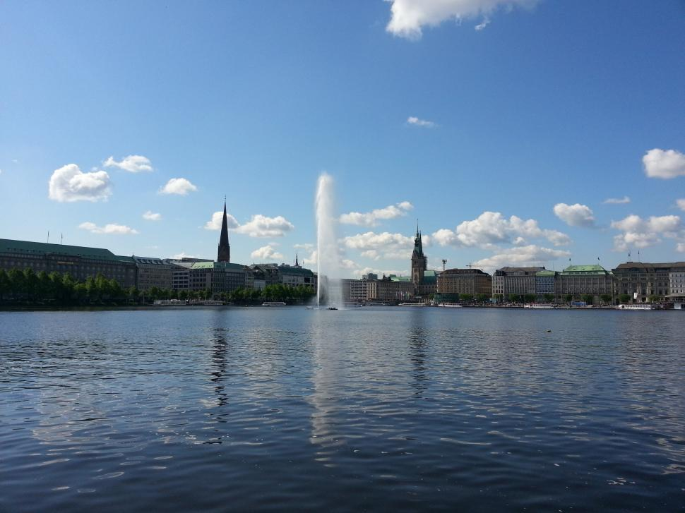 Download Free Stock HD Photo of Water in Hamburg, Germany Online