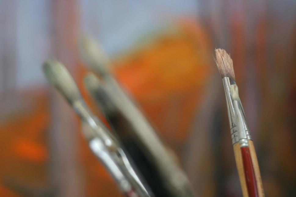 Download Free Stock HD Photo of Paintbrushes Online