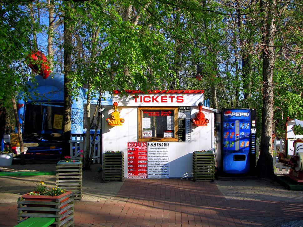 Download Free Stock HD Photo of ticket booth Online