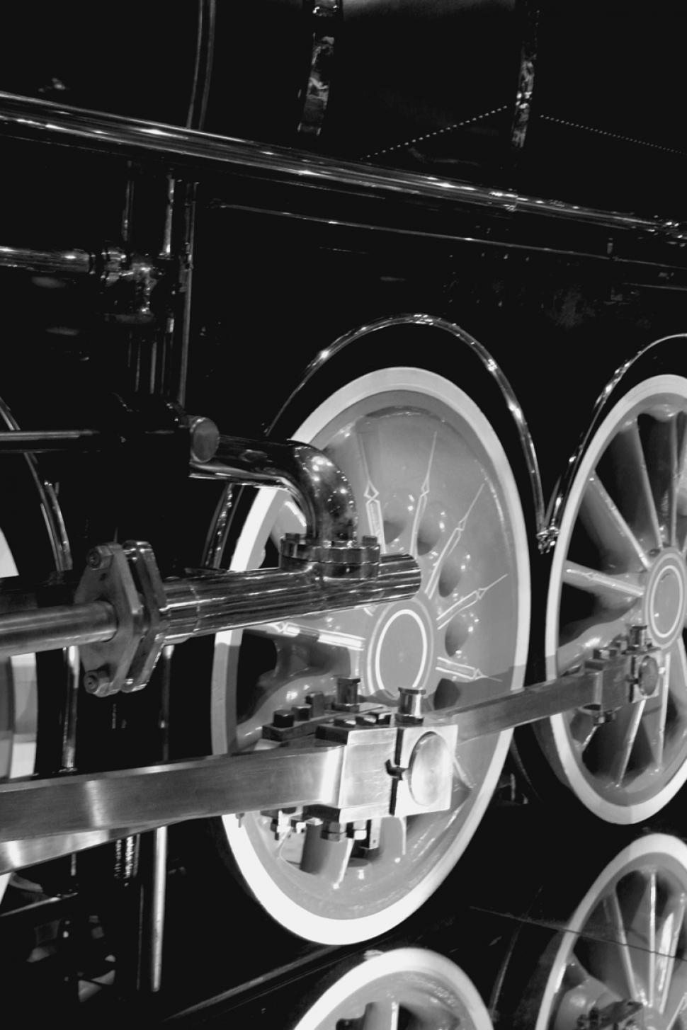 Download Free Stock HD Photo of Steam Locomotive Driving Wheels Online