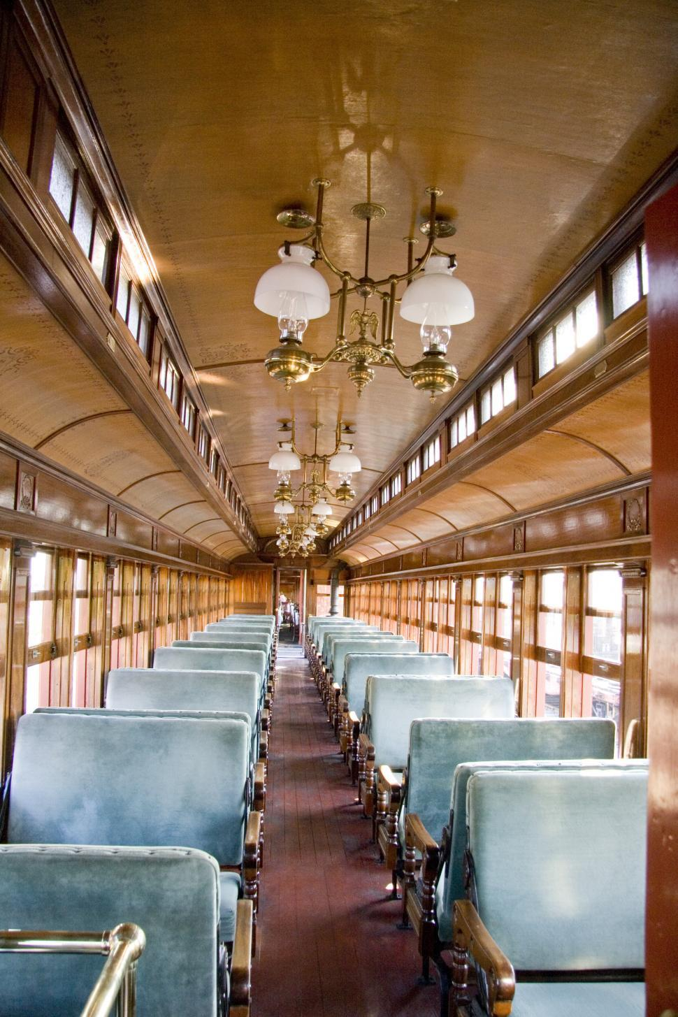 Download Free Stock HD Photo of Boston and Maine Railroad Coach Online