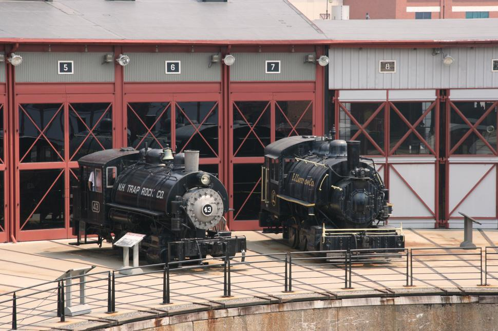 Download Free Stock HD Photo of Tank Locos as Steamtown Online