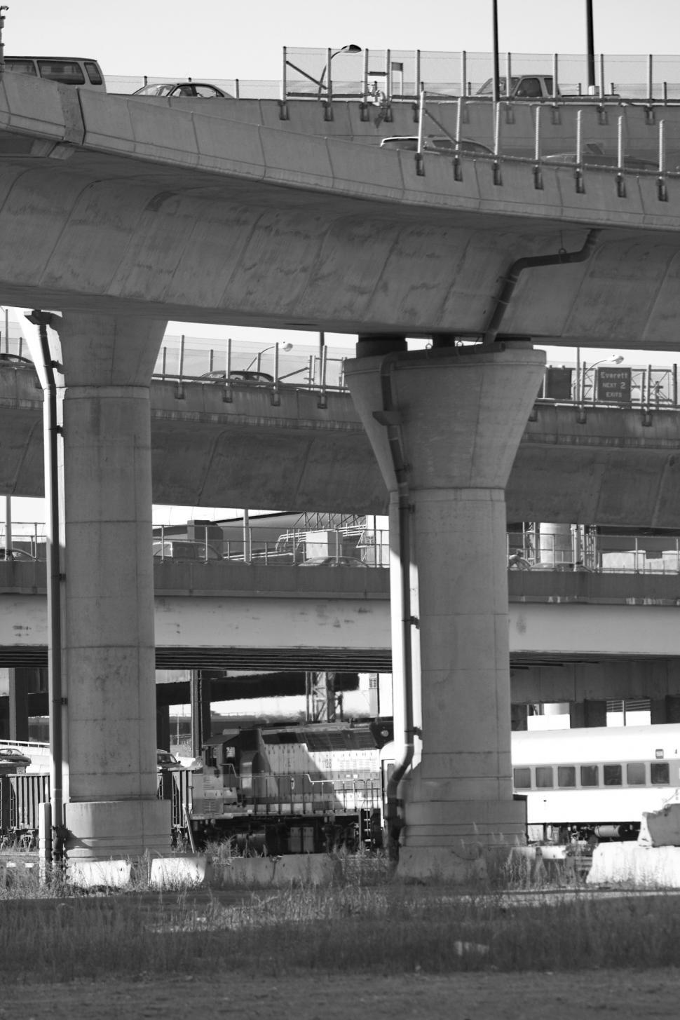 Download Free Stock HD Photo of Over under Overpass Online