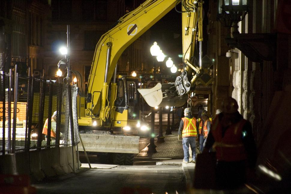 Download Free Stock HD Photo of Excavator in Boston Online
