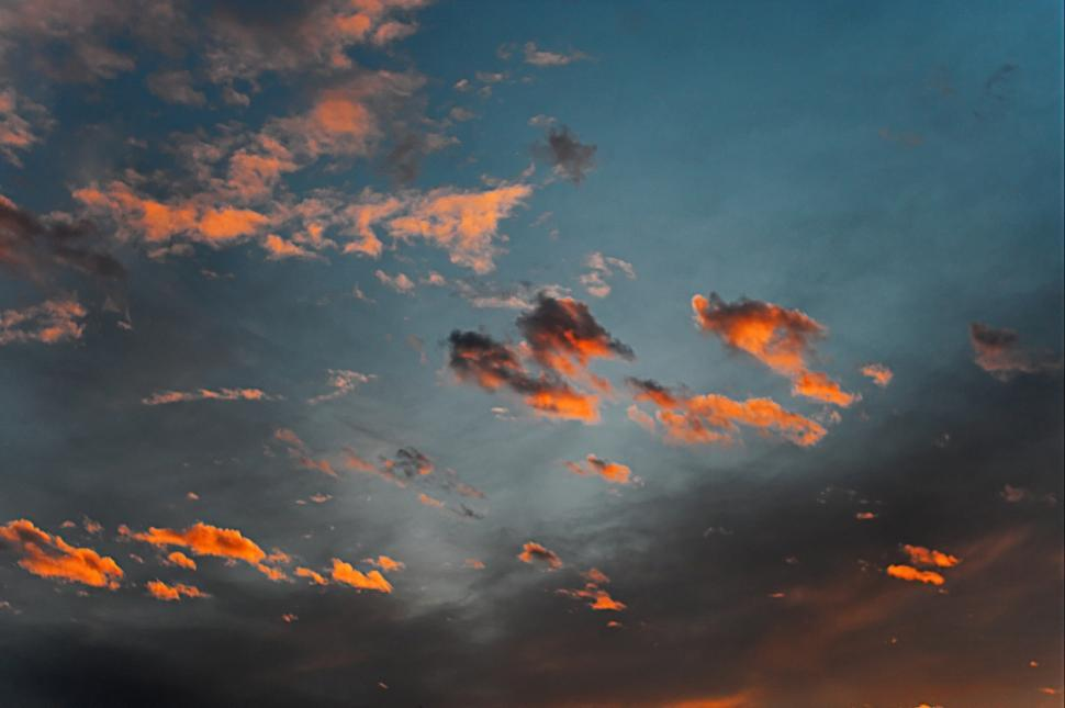 Download Free Stock HD Photo of Orange clouds Online