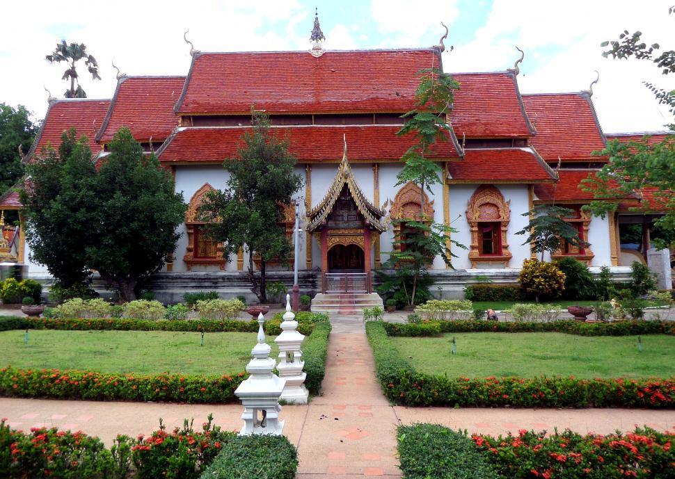 Download Free Stock HD Photo of Nantaram Temple  Online