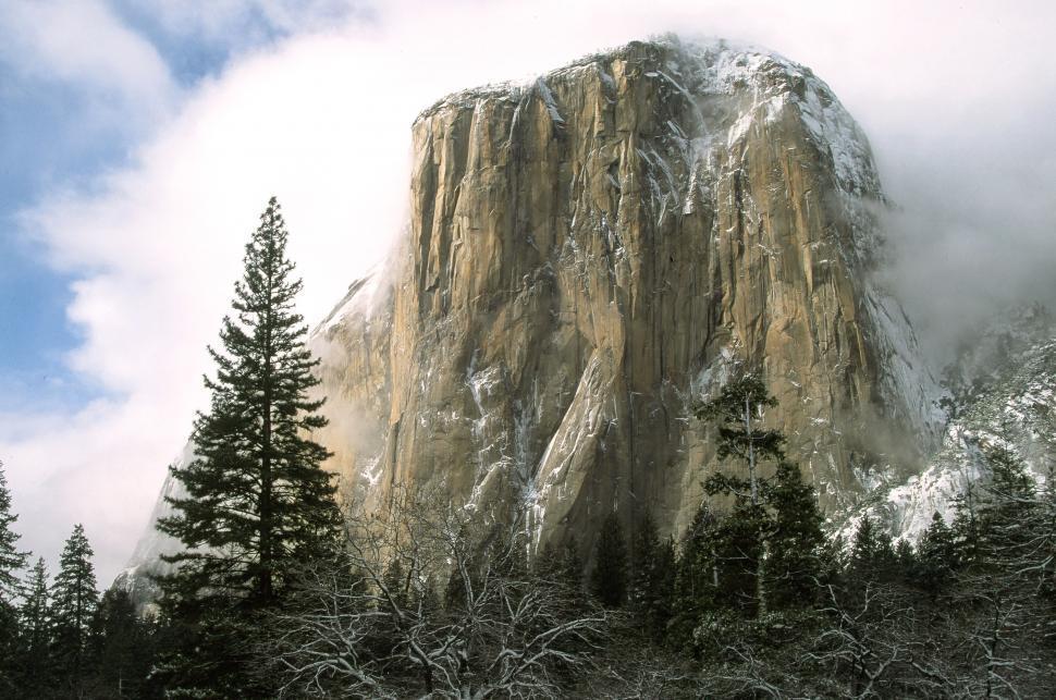 Download Free Stock HD Photo of El Capitan rock, Yosemite NP Online