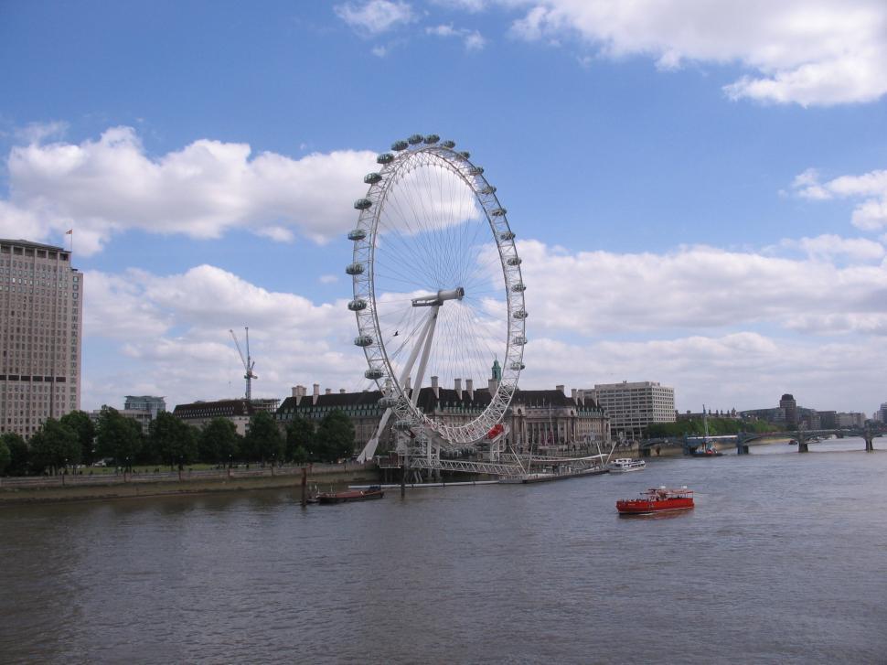 Download Free Stock HD Photo of Ferris Wheel in London Online