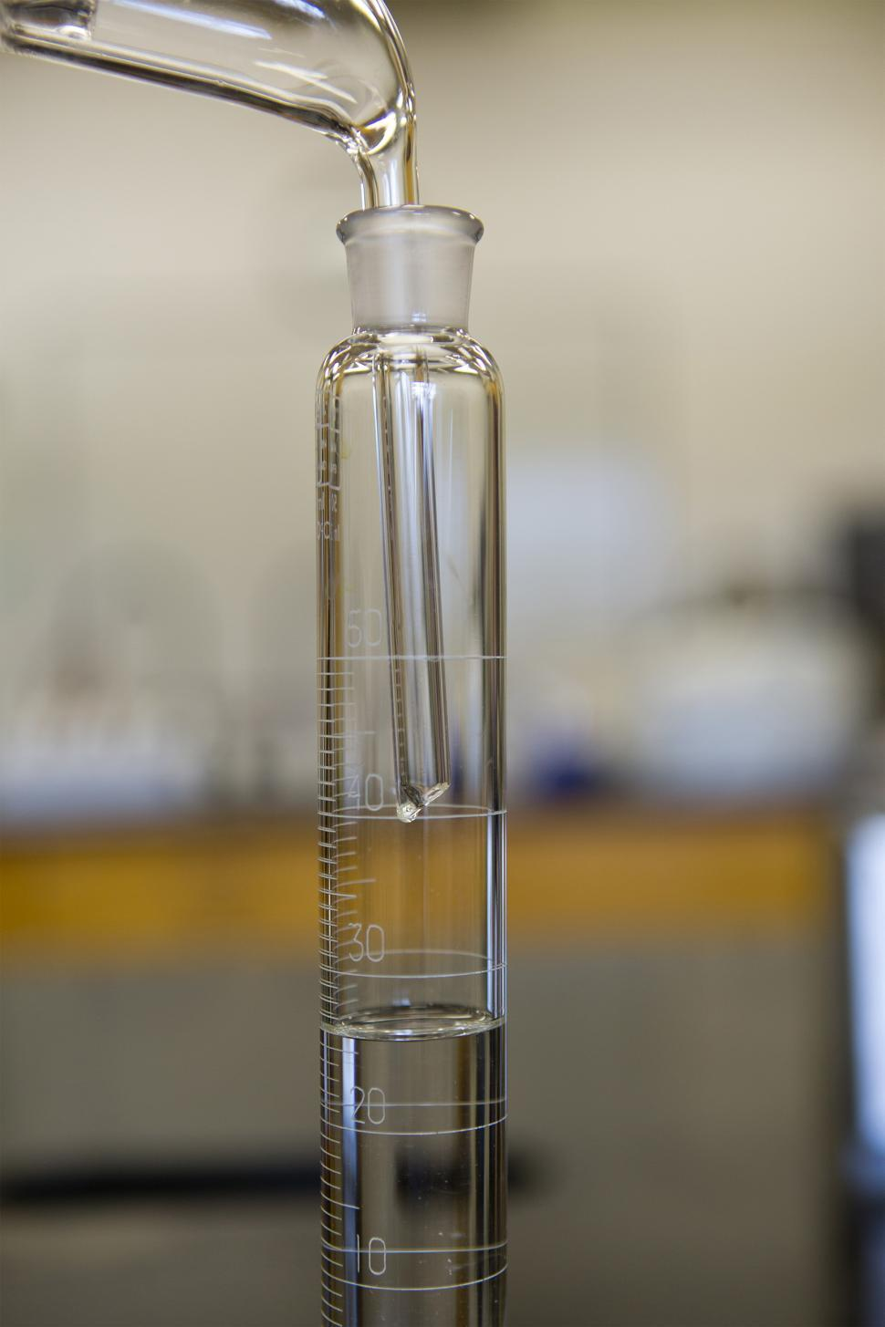 Download Free Stock HD Photo of Distillate in lab Online