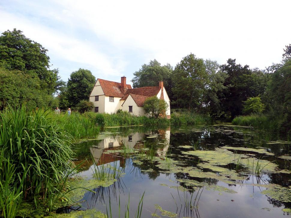 Download Free Stock HD Photo of River Stour scene at Flatford in Suffolk  Online