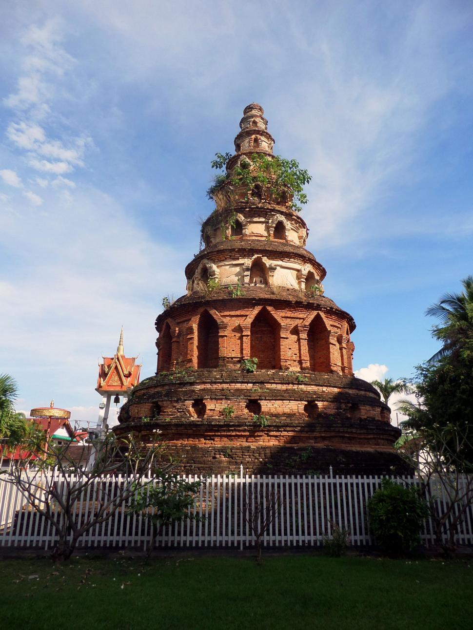 Download Free Stock HD Photo of Ancient Thai Buddhist Pagoda Online
