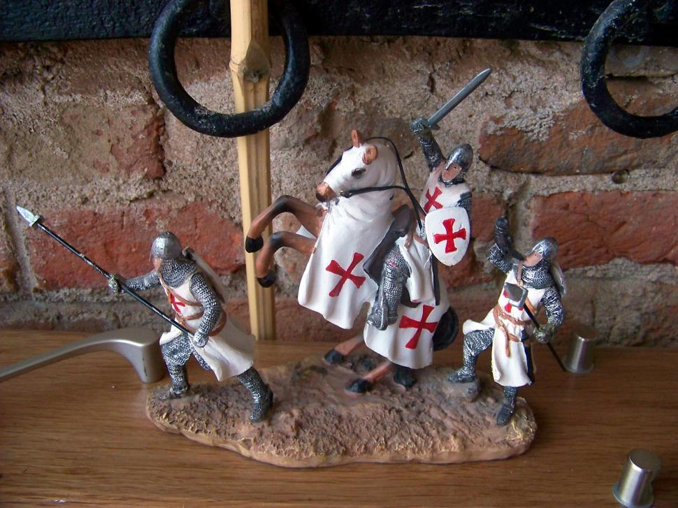 Download Free Stock HD Photo of Porcelain crusaders   Online