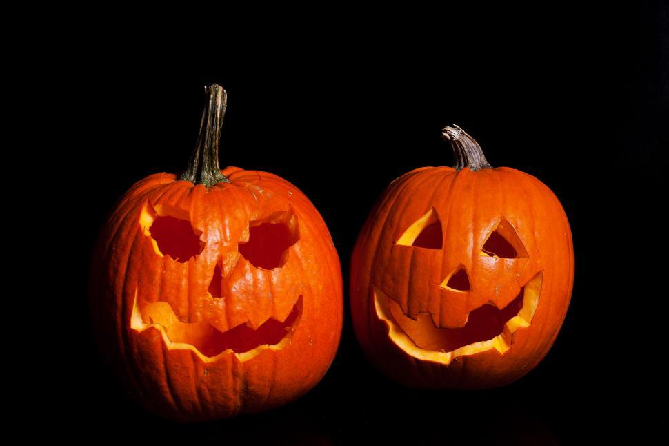 Download Free Stock HD Photo of Halloween Pumpkin Carved Online