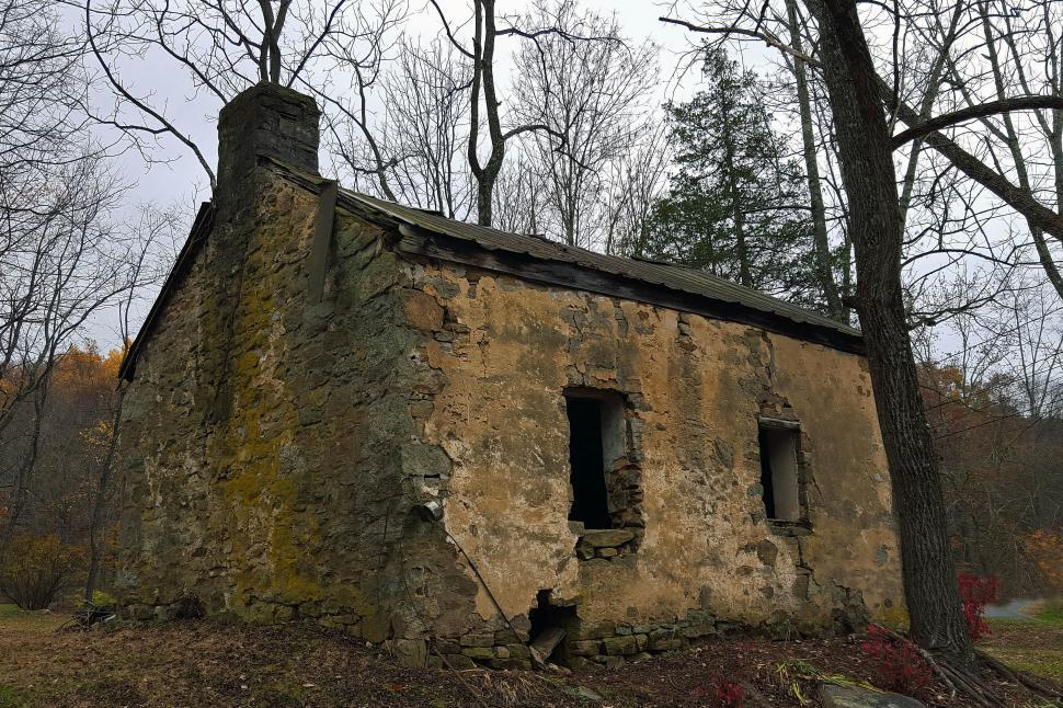 Download Free Stock HD Photo of Ruin Of Old Stone House Online
