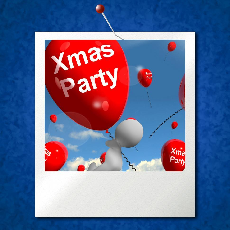 Download Free Stock HD Photo of Xmas Party Balloons Photo Show Christmas Celebration and  Festiv Online