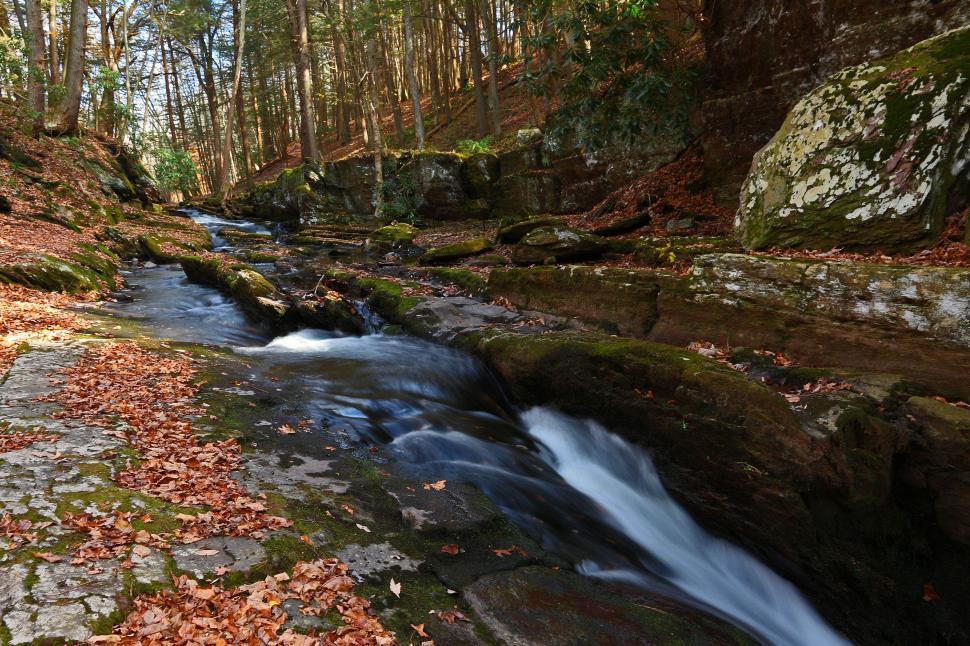 Download Free Stock HD Photo of Van Campens Brook  Online