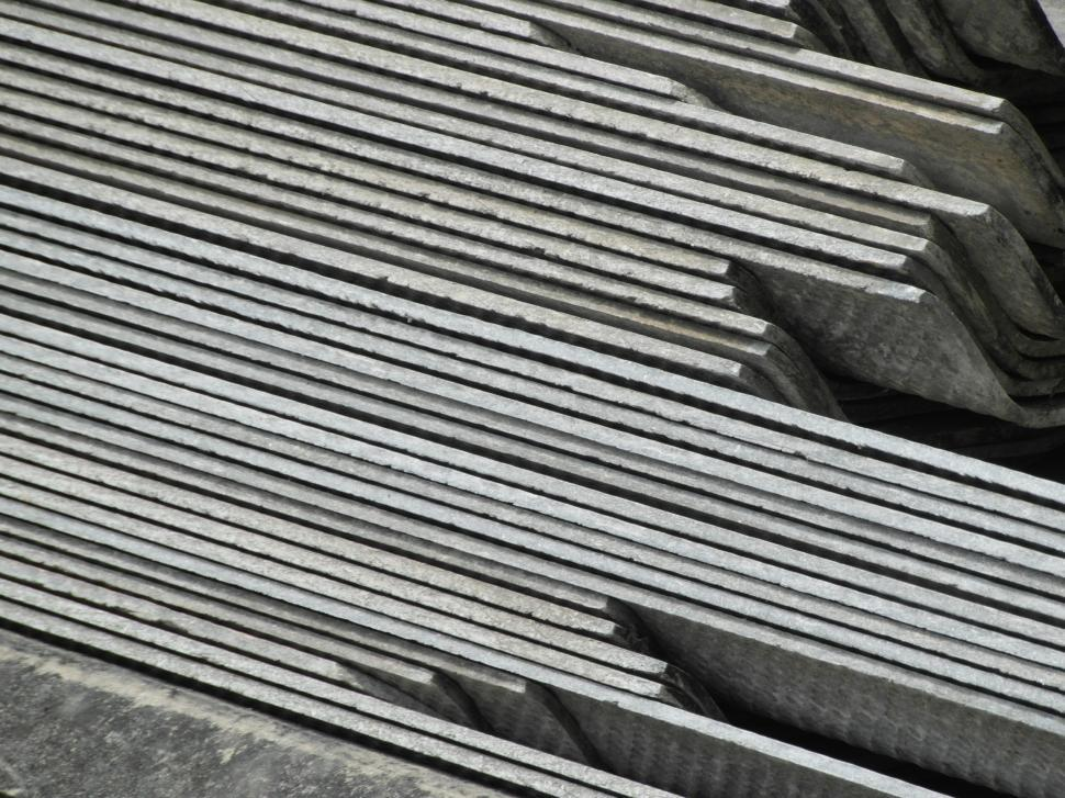 Download Free Stock HD Photo of Gray Industrial Background stacks Online