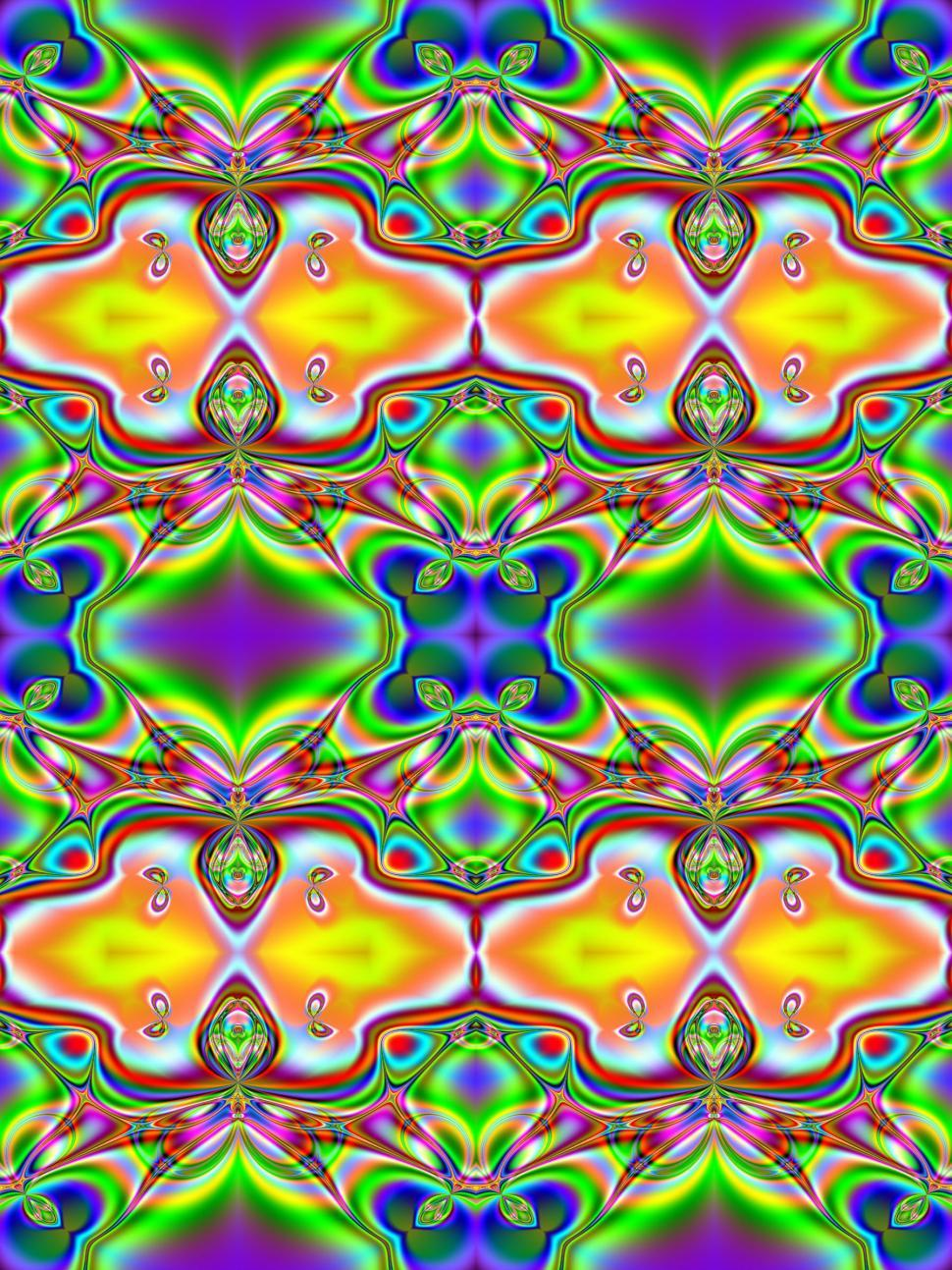 Download Free Stock HD Photo of Fractal-based Tile Online