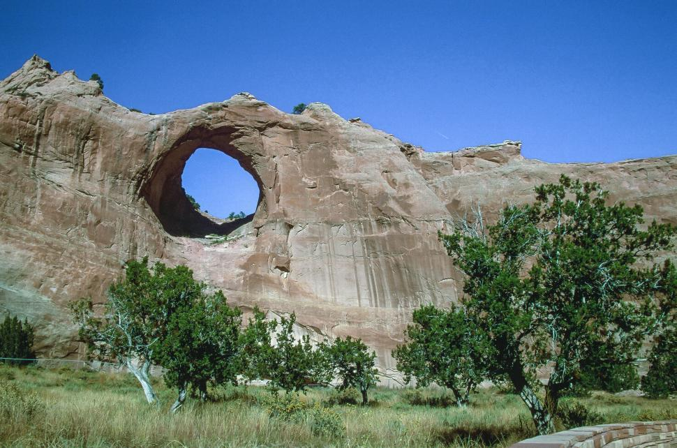 Download Free Stock HD Photo of Canyon de Chelly National Monument Rock Bridge Online