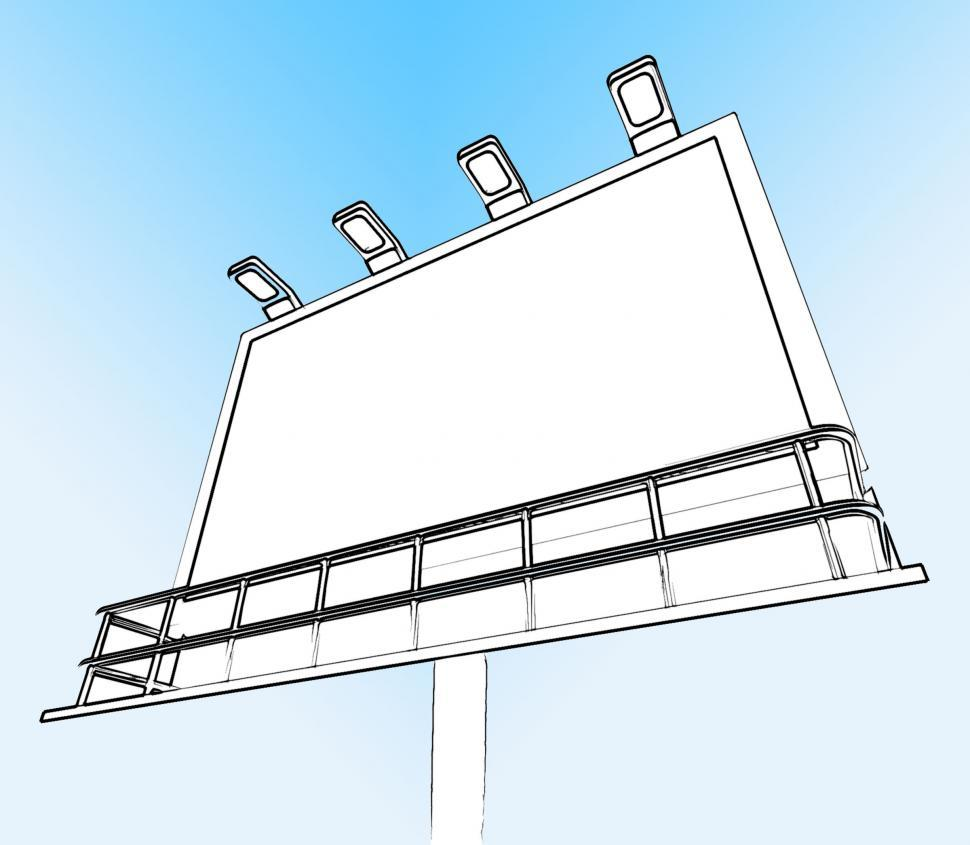 Download Free Stock HD Photo of Blank Billboard Copy space Shows Advertising Space Online