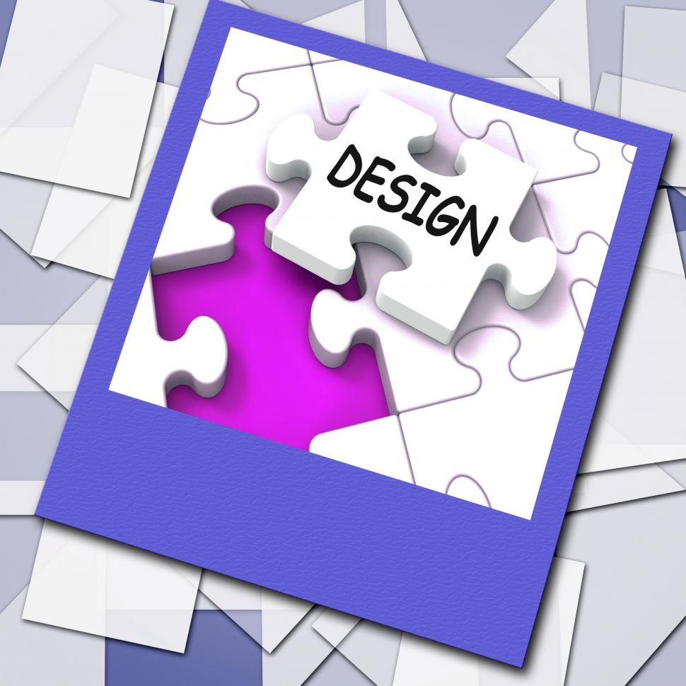 Download Free Stock HD Photo of Design Photo Means Online Designing And Planning Online