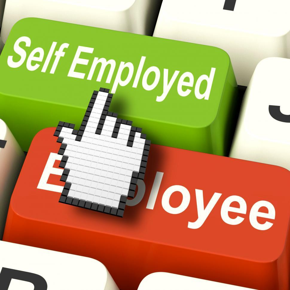 Download Free Stock HD Photo of Self Employed Computer Means Choose Career Job Choice Online