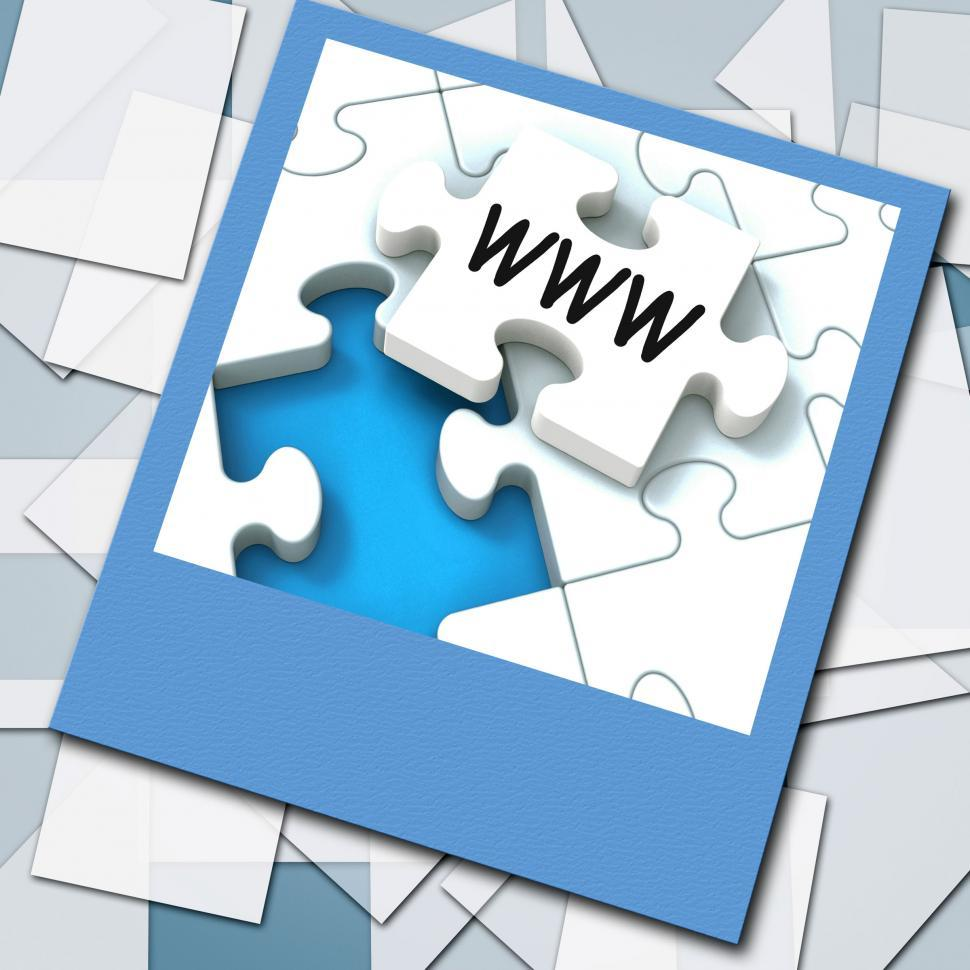Download Free Stock HD Photo of WWW Photo Means Internet Website Or Network Online