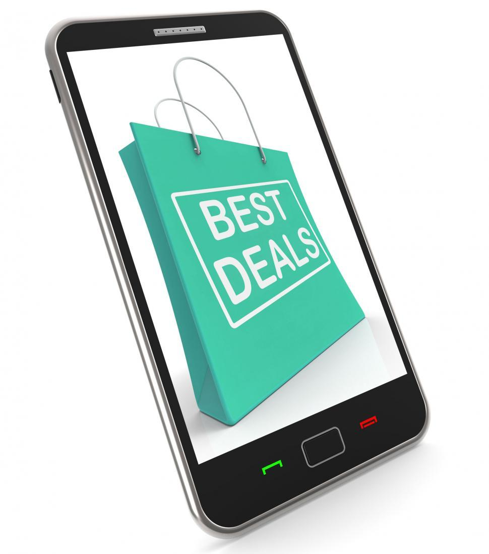 Download Free Stock HD Photo of Best Deals On Shopping Bags Shows Bargains Sale And Save Online