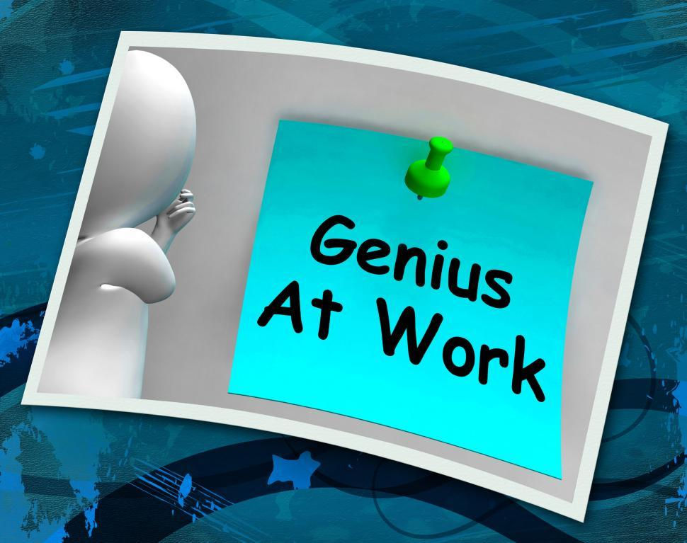 Download Free Stock HD Photo of Genius At Work Means Do Not Disturb Me Online