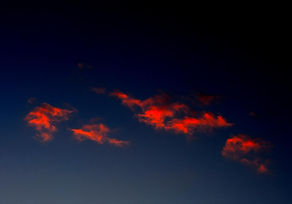 Download Free Stock HD Photo of Night clouds Online