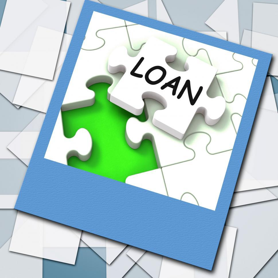 Download Free Stock HD Photo of Loan Photo Shows Online Financing And Lending Online
