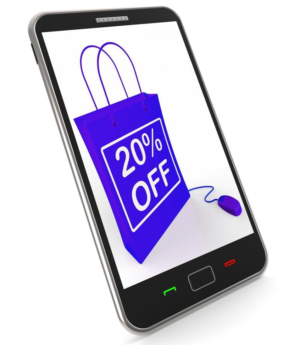 Twenty Percent Off Phone Shows Online Sales and Discounts