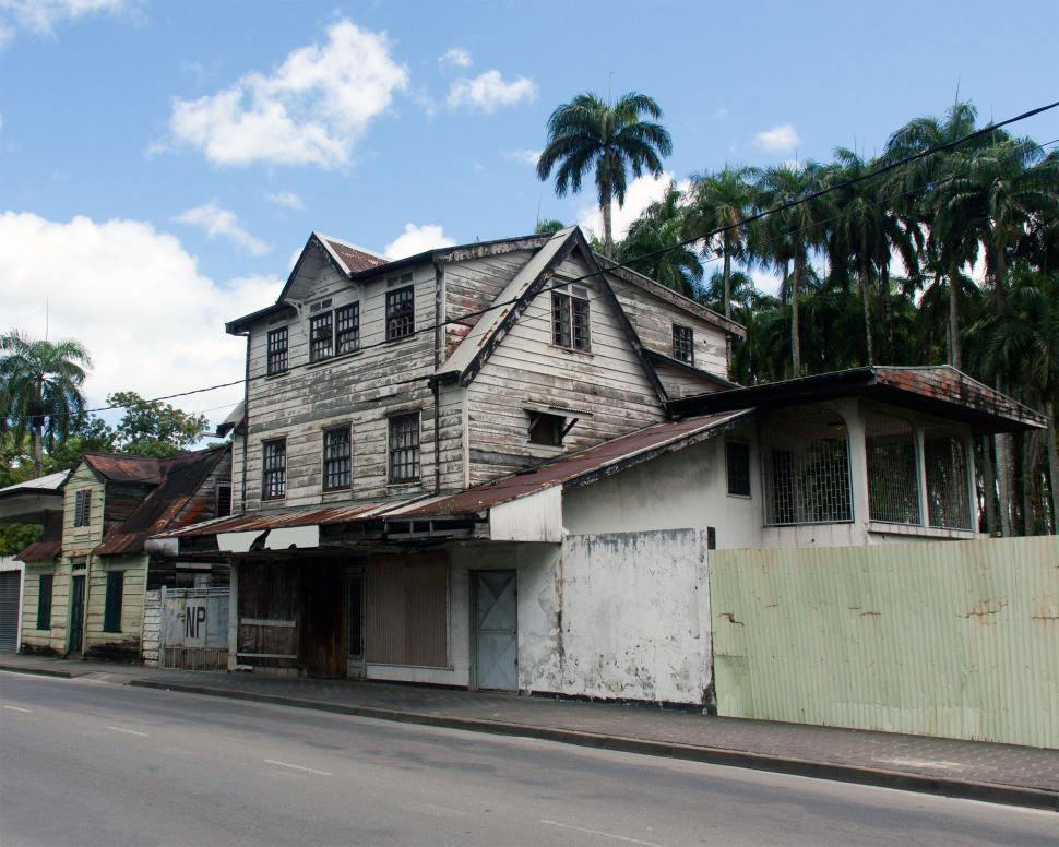 Download Free Stock HD Photo of Dutch Designed Buildings, Suriname Online