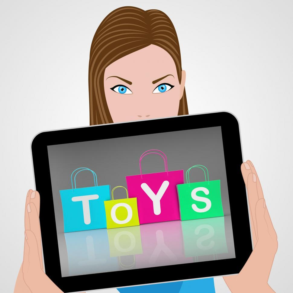 Download Free Stock HD Photo of Toys Bags Displays Retail Shopping and Buying Online