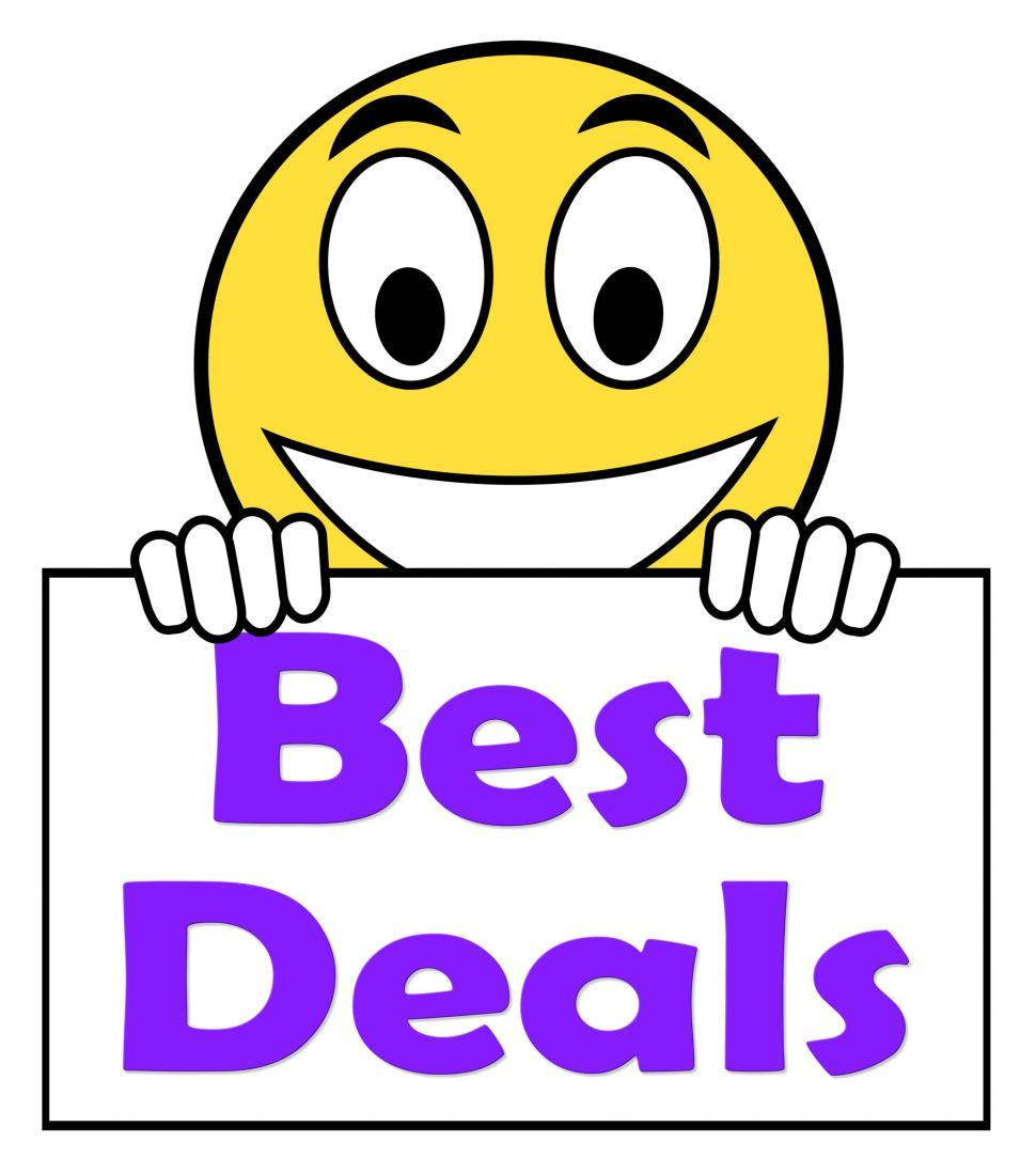 Download Free Stock HD Photo of Best Deals On Sign Shows Promotion Offer Or Discount Online