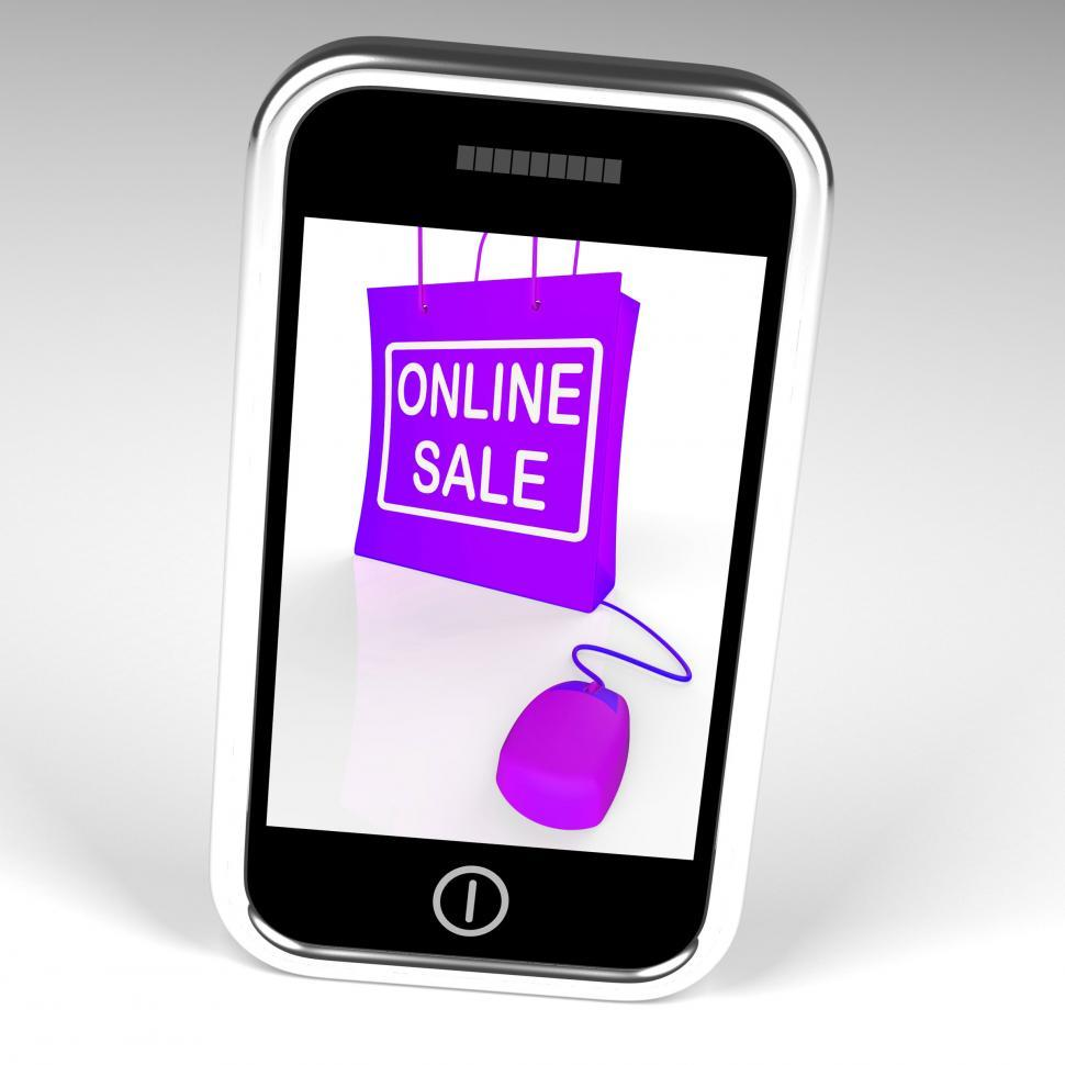 Download Free Stock HD Photo of Online Sale Bag Displays Internet Sales and Discounts Online