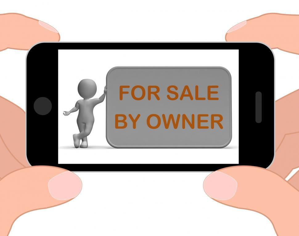 get free stock photos of for sale by owner phone means