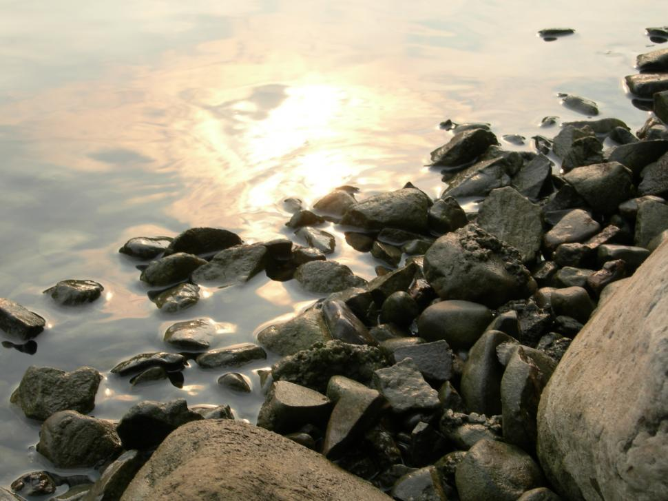 Download Free Stock HD Photo of Rocks and Water Online