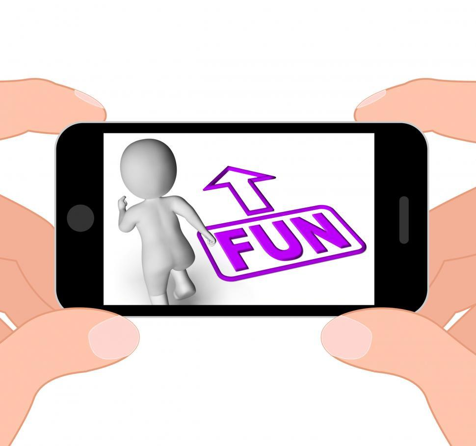 Download Free Stock HD Photo of Fun And Running 3D Character Displays Amusement Starting Or Part Online