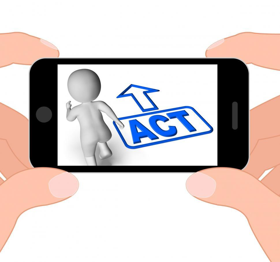 Download Free Stock HD Photo of Act And Running Character Displays Urgent Action Online