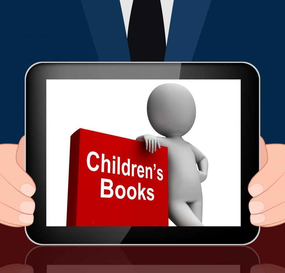 Download Free Stock HD Photo of Children s Book And Character  Displays Reading For Kids Online