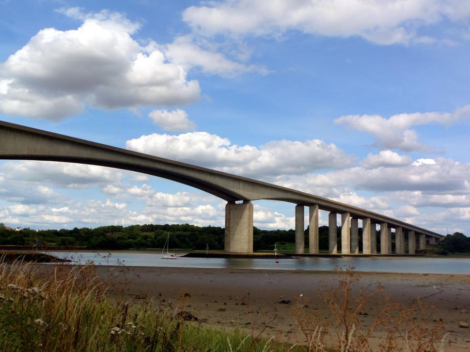 Download Free Stock HD Photo of Orwell Bridge Online