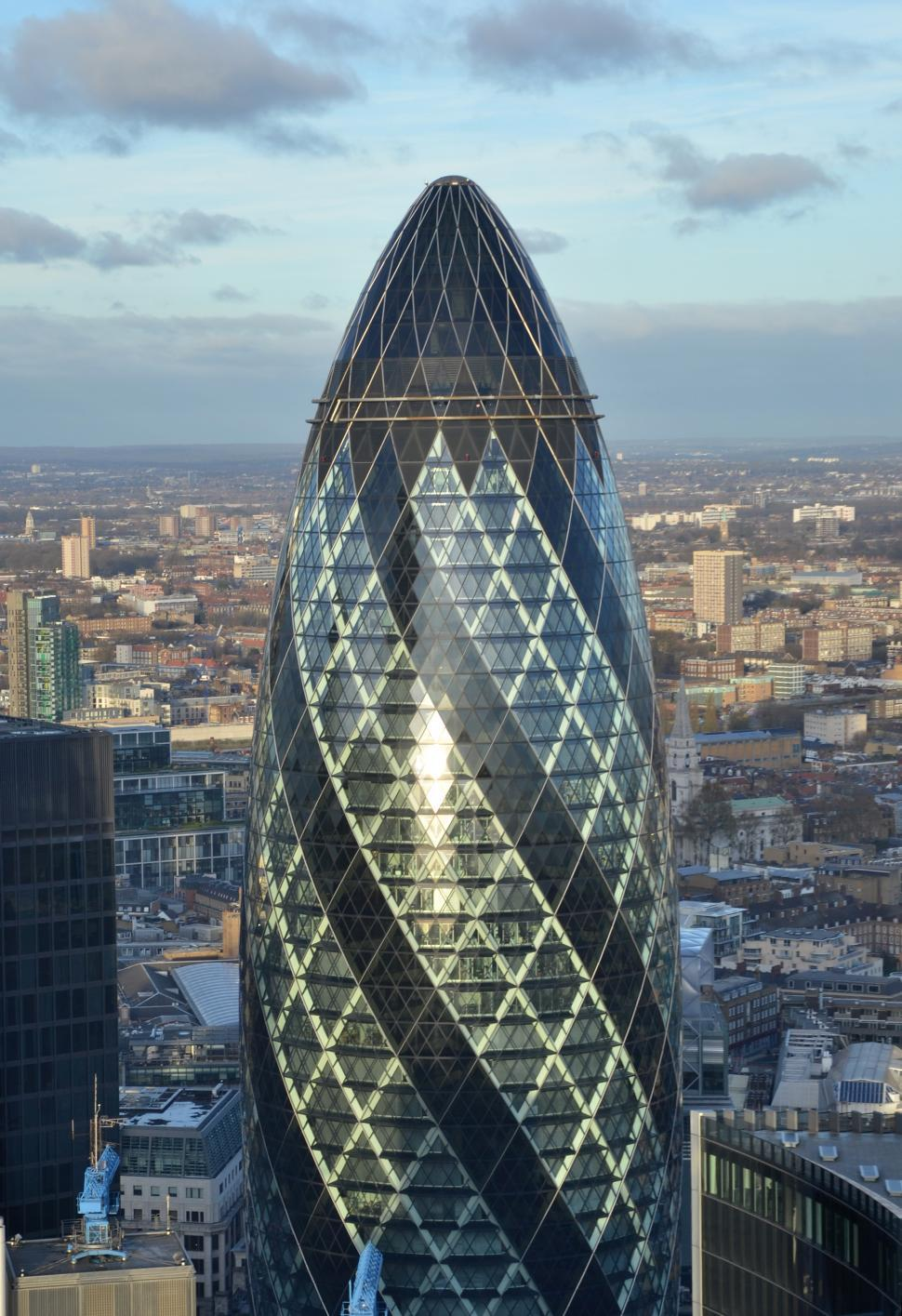Download Free Stock HD Photo of The Gherkin  Online