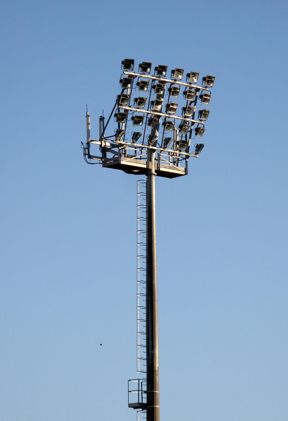 Download Free Stock HD Photo of Stadium floodlights Online